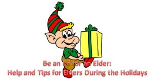 holiday help for elderly