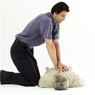 CPR on elderly