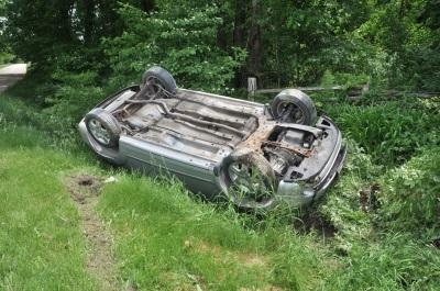 car crash elderly driver