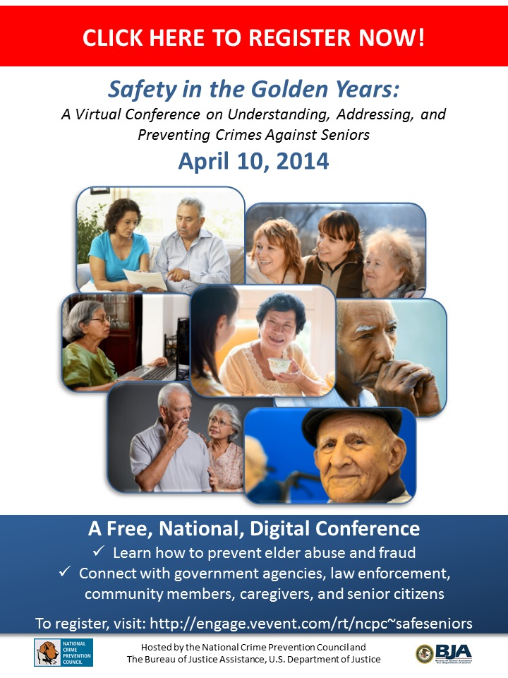 Seniors Virtual Conference Registration Flier 2-19-14
