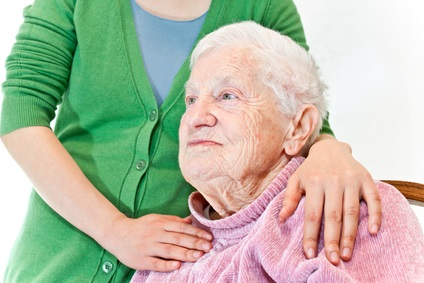 caregiver for elderly Mom