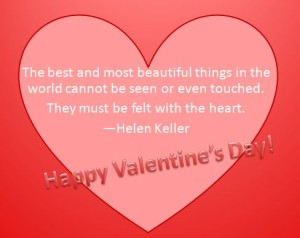 valentine's day helen keller quote