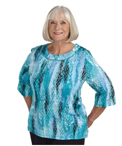 Womens adaptive top