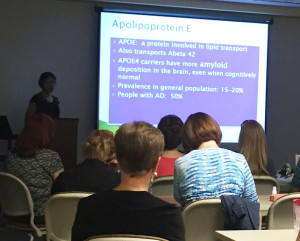 Dr. Pollack at Clearwater Alzheimer's Education Seminar