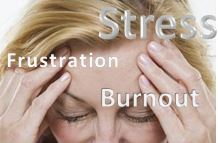 woman experiencing caregiver burnout