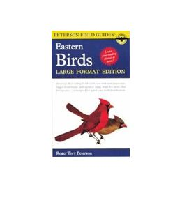 large print bird book for seniors