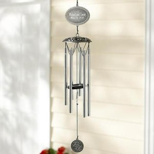 personalized wind chimes for grandparents