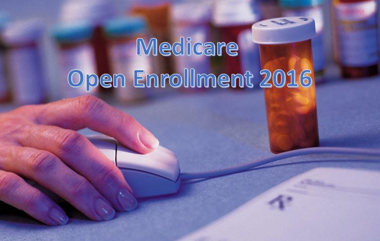 medicare open enrollment 2016
