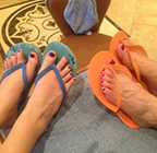 Mother's Day Mom Daughter pedicure date