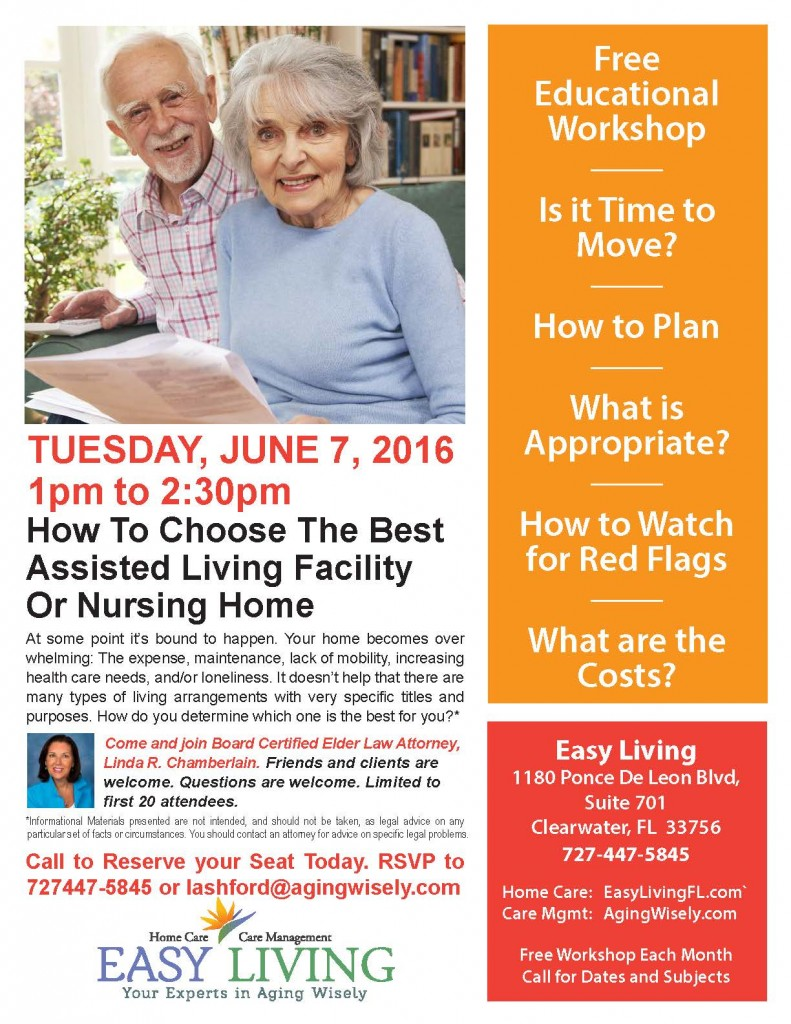 assisted living facility choice