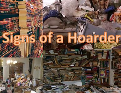 hoarder signs