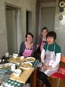 Vegetarian cooking class in a local home with new friends