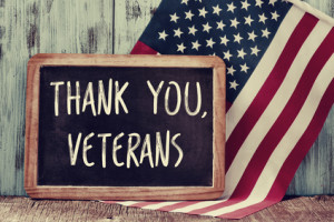 VA benefits: thank you veterans