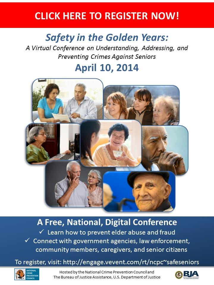 Seniors Virtual Conference Registration Flier 2-19-14